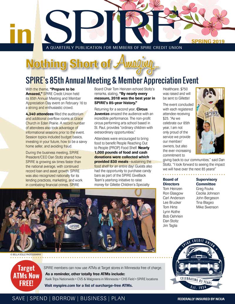 inSPIRE 2019 Spring Issue