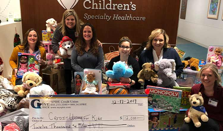 SPIRE Members Donate Thousands for Local Children