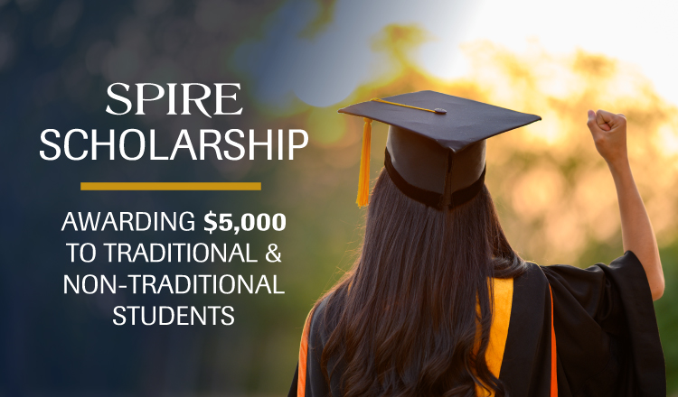 Now Accepting Applications for SPIRE Scholarships
