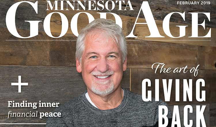Dan Stoltz Featured in February's Minnesota Good Age