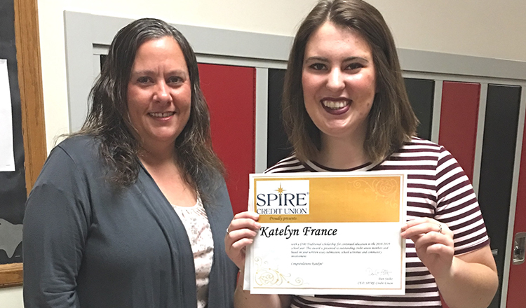 Two High School Students Awarded SPIRE Scholarships