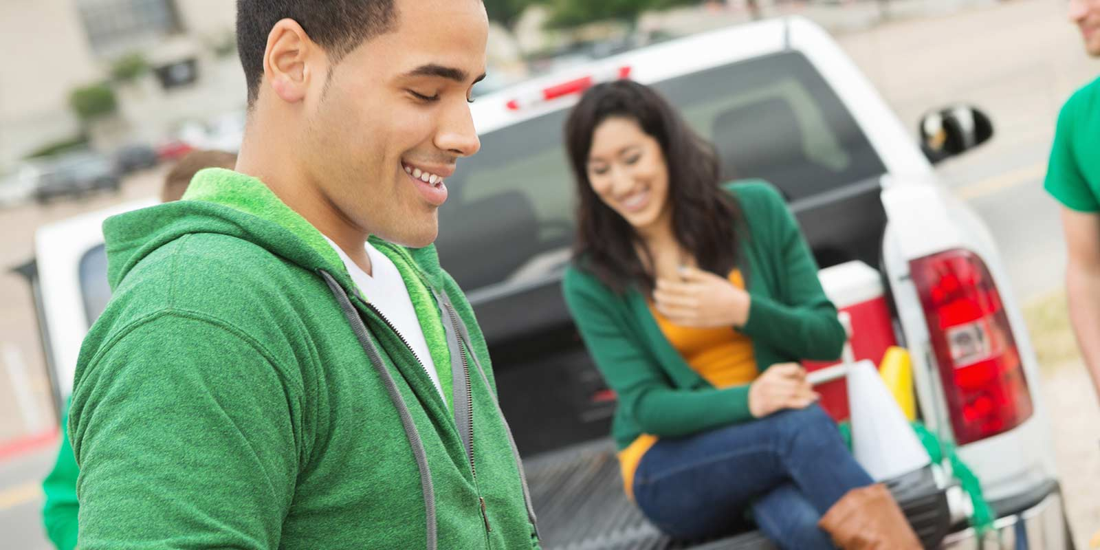 Upgrade your tailgate-get pre-approved for a new or used auto loan today!