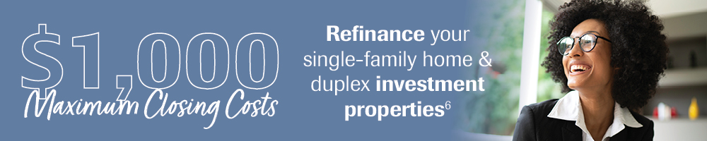 Investment Properties Refinance Special