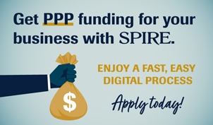 Get PPP funding for your business with SPIRE. Enjoy a fast, easy digital process. Apply today!