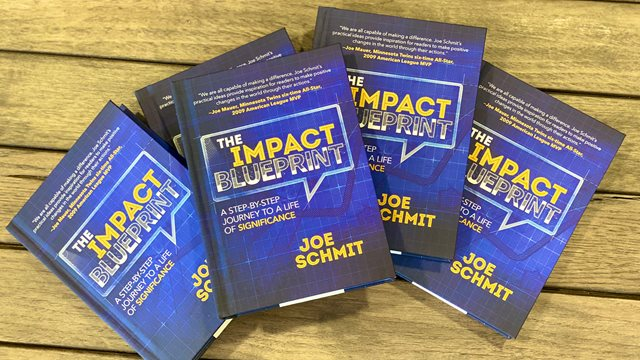 photo of The Impact Blueprint books